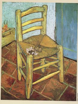 ゴッホ「ゴッホの椅子」.jpg
