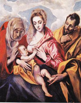 エルグレコ聖アンナのいる聖家族.jpg